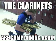 Same for flutes.... Can't judge I'm a flute player!XD