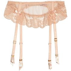 Agent Provocateur Lucienne tulle and lace suspender belt (310 PEN) ❤ liked on Polyvore featuring intimates, lingerie, underwear, undergarments, agent provocateur lingerie, sheer lingerie, bow lingerie, strappy lingerie and see through lingerie