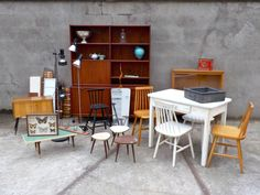 2. WARENEINGANG: Noch mehr schönes Zeugs... Retro, Corner Desk, Conference Room, Table, Design, Furniture, Home Decor, Door Entry, Nice Asses