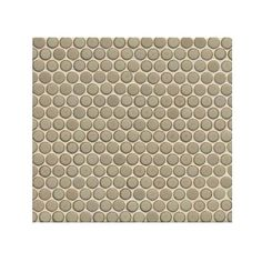 360 x Floor and Wall Penny Round Mosaic in Pumice Pumice, Guest Bathrooms, Japanese Ceramics, Covered Boxes, Mosaic, Shapes, Flooring, Make It Yourself, Cool Stuff