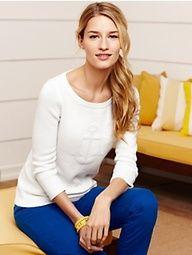 Anchor Jacquard Sweater and Crop Pants