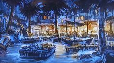 """Blue Lagoon"" restaurant, Treasure Cove, Shanghai Disneyland (2015)"