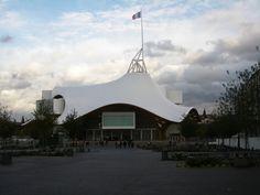 Découverte du Centre Beaubourg de Metz.