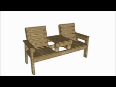 Chair bench with table plans myoutdoorplans free woodworking plans