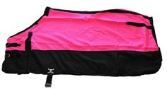 """600 Denier Horse Turnout Sheet Hot Neon Pink by AJ. $42.00. Premium horse turnout sheet. Made with 600 denier """"Rip Stop"""" water resistant and breathable poly nylon, beautiful color over black, machine washable.Lining: No To Measure Your Horse: Use a soft fabric tape measure from the center of your horse's chest (where the bas e of the neck meets the chest), come around the widest part of the shoulders then barrel, around the hips and flank all the way to t he point just ..."""