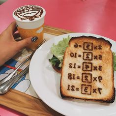 Copying toast or memory bread for breakfast!! #Doraemon