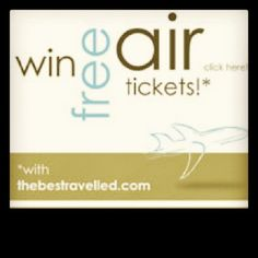Win air tickets worth $1200. For more details, see http://thebesttravelled.com/en/contest