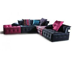 I JUST GOT A COUPON FOR SHARING: EUROLUX FURNITURE  Multi Tone Fabric Modern Sectional Sofa  $3290