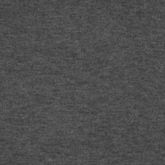 Heather Charcoal Gray Solid Cotton Jersey Spandex Blend Knit - Very high quality light to mid weight cotton jersey rayon spandex blend knit in a nice charcoal gray with a heather effect.  Nice fluid drape and excellent stretch.  A wonderful staple fabric and perfect for all sorts of uses! :: $6.00