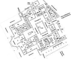 Pompeii - Villa of Mysteries plan Ancient Roman Houses, Ancient Rome, Romanesque Architecture, Roman Architecture, Mystery Room, Wine Press, Pompeii And Herculaneum, Rustic Room, Fancy Houses