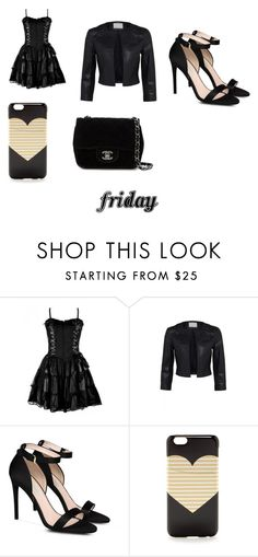 """friday"" by angie-1669 ❤ liked on Polyvore featuring STELLA McCARTNEY, J.Crew and Chanel"