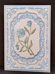 Love this Spellbinders die, may have to invest in this!