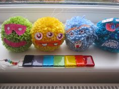 4 kids, 2 guinea pigs one happy family: Making a Moshi Monster Moshling or glump