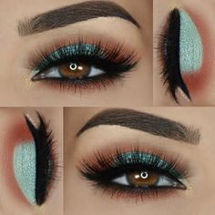 Beautiful Eyeshadow Images For Spring Makeup Makeup Goals, Makeup Inspo, Makeup Inspiration, Makeup Ideas, Eyeshadow Looks, Eyeshadow Makeup, Hair Makeup, Mua Lipstick, 80s Makeup