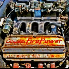 Old school MOPAR power