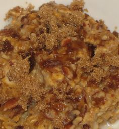 Pumpkin-Apple Oatmea
