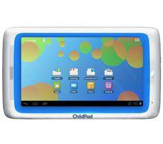 Für einen gesicherten Umgang mit dem Internet enthält das Tablet eine Kindersicherung (6 Monate gratis). Der kapazitive Touchscreen hat eine Diagonale von 18 cm (7 Zoll). Auch eine Webcam ist enthalten.