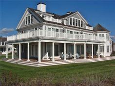 Wow! How is this for a coastal getaway?  A beautiful vacation home in Falmouth, Cape Cod