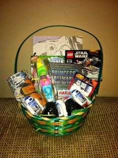 Leave average easter baskets in the dust blow his mind with a raising scotty perfect star wars easter basket for year old boys negle Images