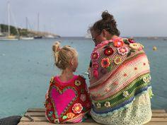 blije stola crochet shawl pollevie