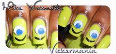 VICKERMANIA: Halloween Nail Art!