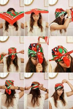 誰でも簡単!これでアナタも上級者?バンダナ&スカーフを使ったヘアアレンジの31枚目の写真   マシマロ