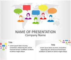 Social Networking PowerPoint Template