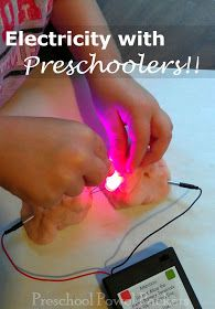 Electricity With Preschoolers & Squishy Circuits | Preschool Powol Packets
