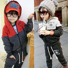 Aliexpress.com : Buy Spring Summer Autumn Winter Girls' Clothing Sets for Children Clothes for Kids Korean Boys Formal Baby Sport Suit Hooded Cotton from Reliable baby sport suit suppliers on beike's store