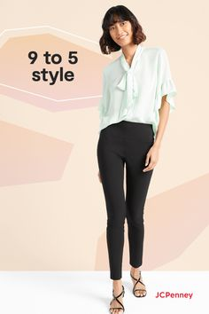 We've updated your favorite styles to be better (and easier to wear) than ever before! The new Worthington collection from JCPenney is your style solution for pretty much any occasion. Top our skinny elastic waist pants with a pretty blouse for in-person or online meetings. Or slip into a cropped trouser and tunic blouse for an effortless weekend look. Wherever you're going, Worthington has a feel-good fit just for you! Curly Pixie Hairstyles, Older Women Hairstyles, Bow Blouse, Tunic Blouse, Thin Headbands, Straight Trousers, Princess Diana, Spring Style, New Outfits