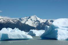 Glaciar Perito Moreno en El Calafate, Santa Cruz