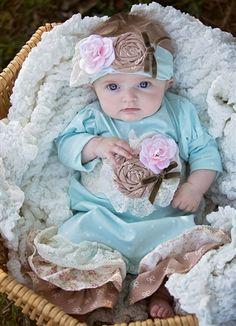 Haute Baby - Felicity Baby Girl Romper