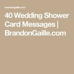 40 Wedding Shower Card Messages Brandongaille