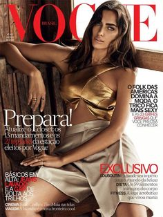 Vogue Brazil August 2014 Cover