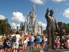 Embrace your inner child at Disney World in Orlando, Florida.