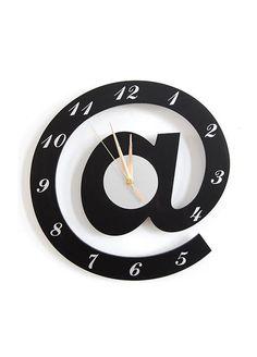 Smart Life - Smart Life Özel tasarım @ simgeli duvar saati Markafoni'de 69,99 TL yerine 43,99 TL! Satın almak için: http://www.markafoni.com/product/3543446/