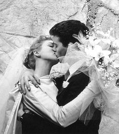 Russ Tamblyn, (played Riff in West Side Story) married Venetia Stevenson in They divorced 14 months later. She was also married to Don Everly of the singing Everly Brothers. Celebrity Wedding Photos, Celebrity Wedding Dresses, Celebrity Couples, Celebrity Weddings, Star Wedding, Dream Wedding, Russ Tamblyn, 1960s Wedding, Famous Couples