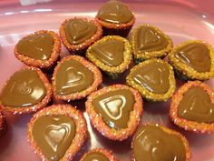 Valentine Peanut Butter Cup Cookies