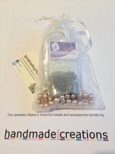 Jewellery making Kit Bead and Findings Kit by HandmadeLCreations