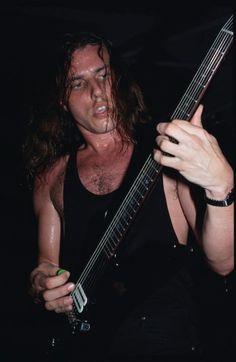 Death's legendary guitarist, Chuck Schuldiner.