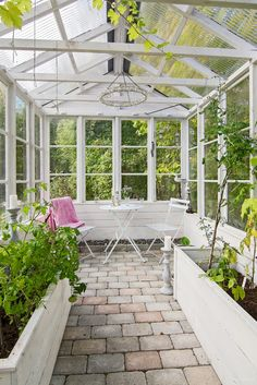 "Visit our internet site for additional information on ""greenhouse design"". It is an excellent area for more information. Greenhouse Kitchen, Backyard Greenhouse, Greenhouse Plans, Backyard Landscaping, Design Jardin, Garden Design, Outdoor Spaces, Outdoor Living, Garden Shed Interiors"