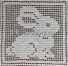 Freestanding Lace Easter Crochet Rabbit