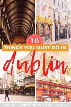 Only have 1 day in Dublin and want to know the best things to do and see? Be sure to read this itinerary to make sure you see the best of Dublin in 1 day! Ireland Travel Guide, Europe Travel Guide, Travel Guides, Dublin Travel, Paris Travel, Europe Destinations, Backpacking Europe, Dublin Ireland, Cork Ireland