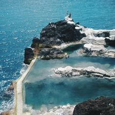 Lava Pools, Madeira, Portugal