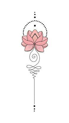 Mini Tattoos, Love Tattoos, Beautiful Tattoos, Body Art Tattoos, New Tattoos, Small Tattoos, Tattoos For Women, Tatoos, Unalome Tattoo
