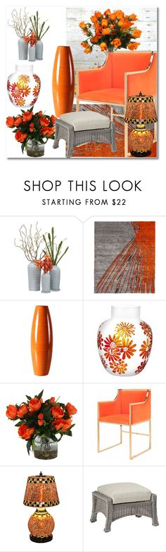 """""""Favorite Summer Interior"""" by ann-kelley14 ❤ liked on Polyvore featuring interior, interiors, interior design, home, home decor, interior decorating, Qualia, Universal Lighting and Decor and Frontgate"""