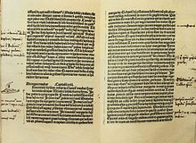 Handwritten notes by Christopher Columbus on the Latin edition of Marco Polo's Le livre des merveilles.