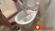 Žiadne drhnutie a čistota celé týždne za pár drobných. Toto sú perfektné triky, s ktorými môžete zabudnúť na vodný kameň, zápach aj kupovanie drahých WC prípravkov. Dajte do WC nádržky pohár s octom – na každodenné drhnutie misy môžete zabudnúť Pohár naplníme octom zatvoríme a do veka urobíme niekoľko tvorov. Takto nebudete musieť riešiť vodný... Mish Mash, Home Hacks, Bathtub, Relax, Bathroom, Tips, Nature, Straws, Washroom