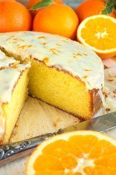 Ucierane ciasto pomarańczowe Sweet Recipes, Cake Recipes, Dessert Recipes, Pumpkin Cheesecake, How Sweet Eats, Coffee Cake, Food To Make, Good Food, Food Porn
