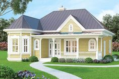 Vacation or City Home - 3083D | Architectural Designs - House Plans